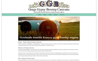 Greg's Gypsy Bowtop Caravans