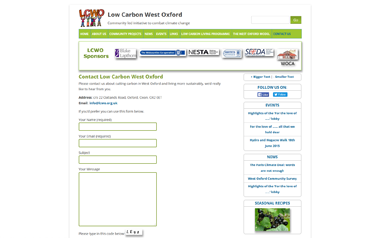 Low Carbon West Oxford