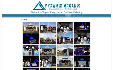 Pyramid Organic - Distinctive Vegan and Vegetarian Outdoor Catering
