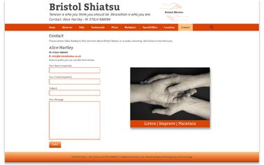 Bristol Shiatsu - Alice Hartley